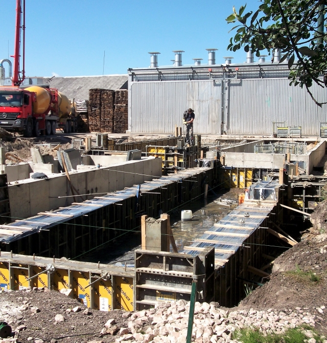 SPECIALTY CONCRETE FOUNDATION FOR VARIOUS TYPES OF EQUIPMENT